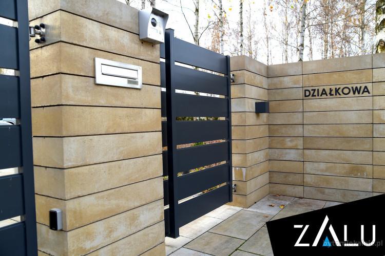 Produkcja i montaż ogrodzeń aluminiowych ZALU