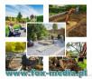 Zakładanie ogrodów, budowa ogrodów, prace ogrodnicze i usługi ogrodnicze